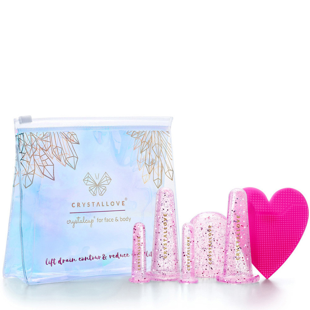 CRYSTALLOVE Silicone banks for face and body massage